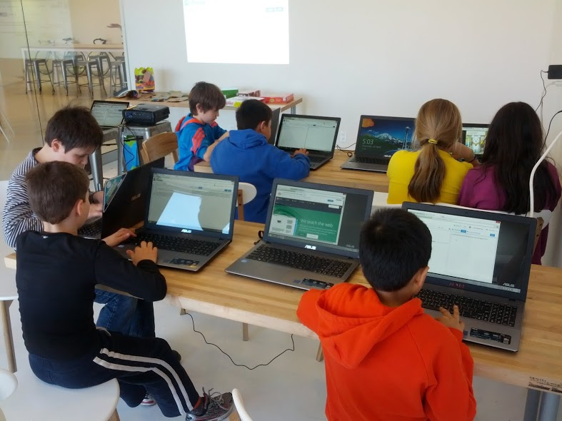 12 weeks of webmaking: Kids Learning Code's very first after-school program