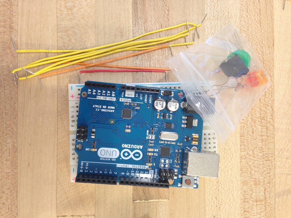 Starting the new year off with Kids Learning Code: Electronics with Arduino