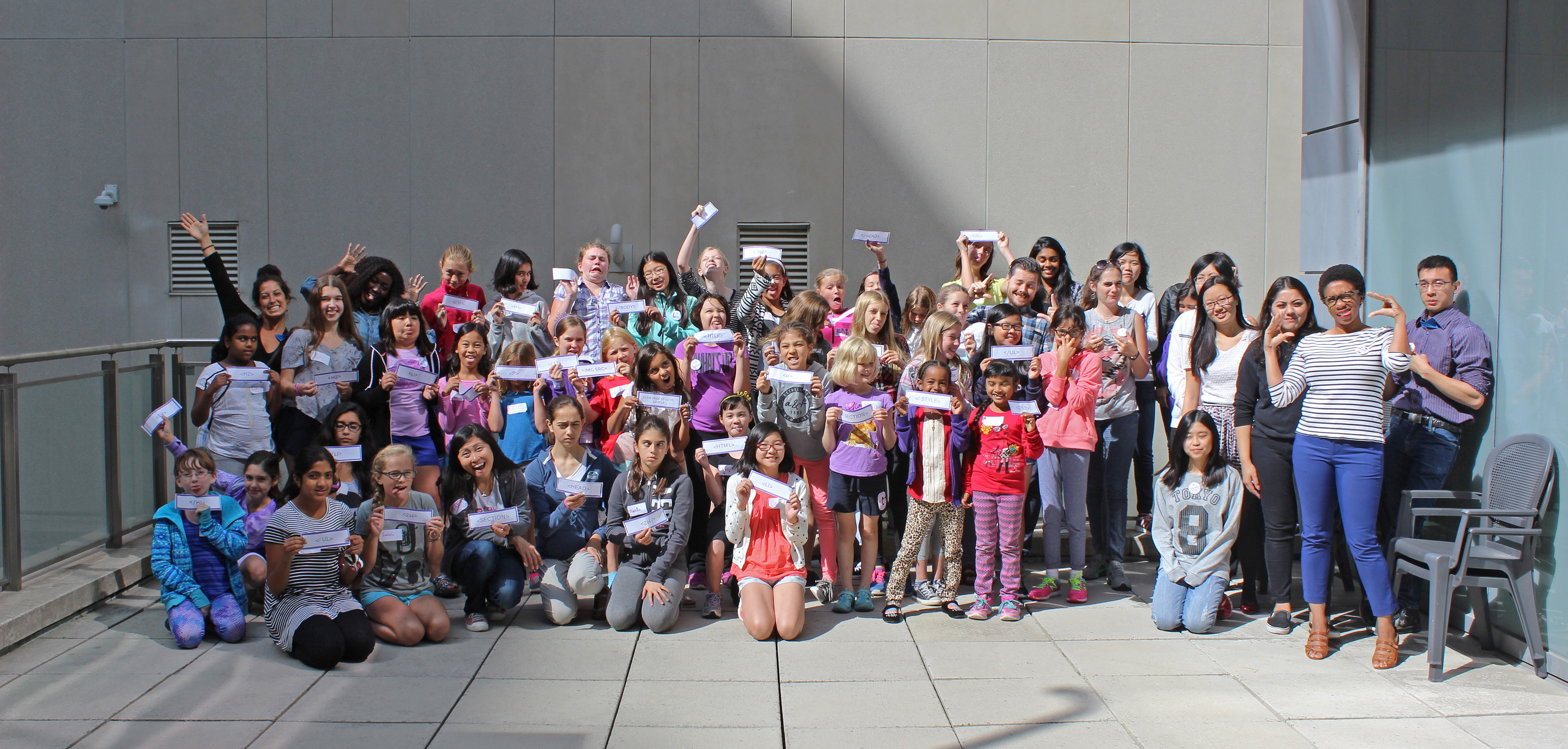 Over 500 kids and 200 volunteers spent the summer learning to code