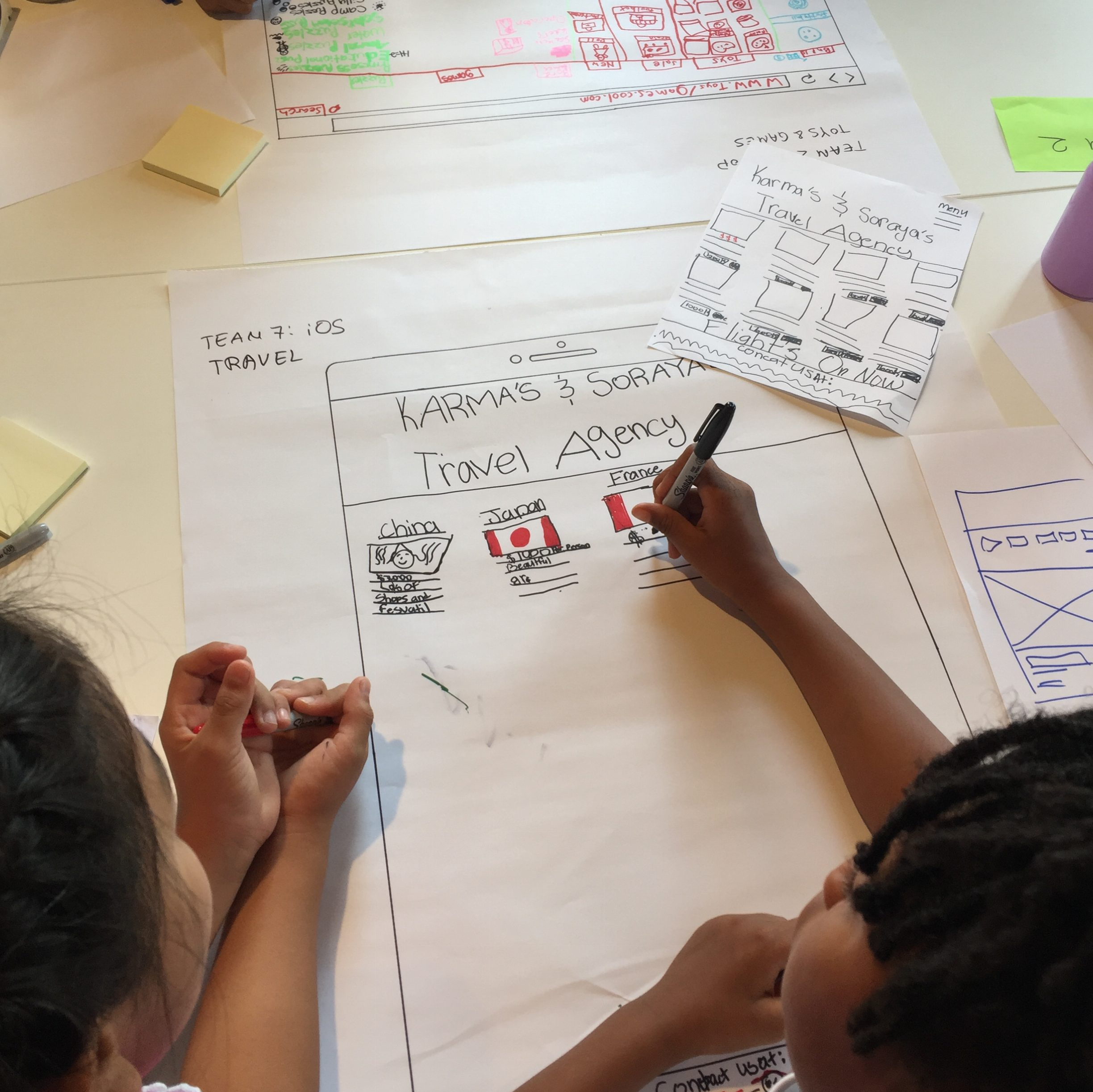 A Look Inside the Real World of Digital Literacy: Girls Learning Code Camp Visits Architech!