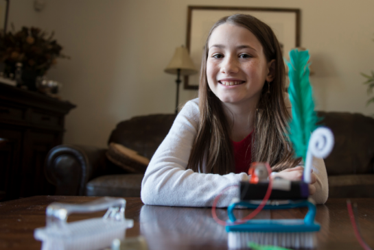 Meet the Calgary Pre-teen Bringing Technology to Her Peers