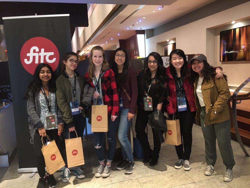 teens at FITC