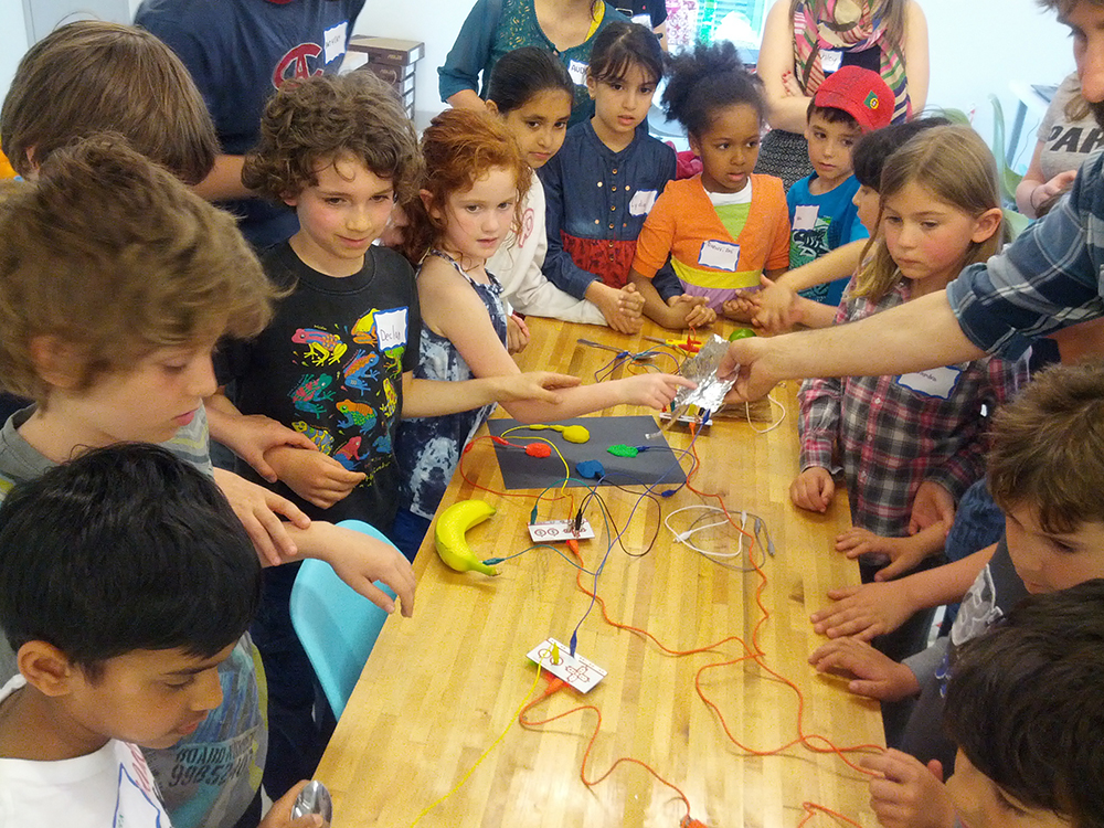 Vancouver's Kids Learning Code Team has joined forces with Traction on Demand's Bandit Tour