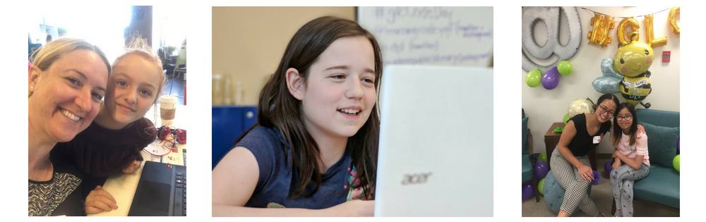 #magicMoments from Girls Learning Code Day!