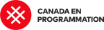 French logo of Canada in programming (Canada learning code)