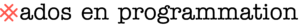 Ados en programmation logo