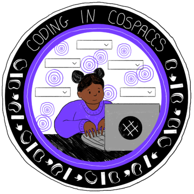 Coding in CoSpaces badge